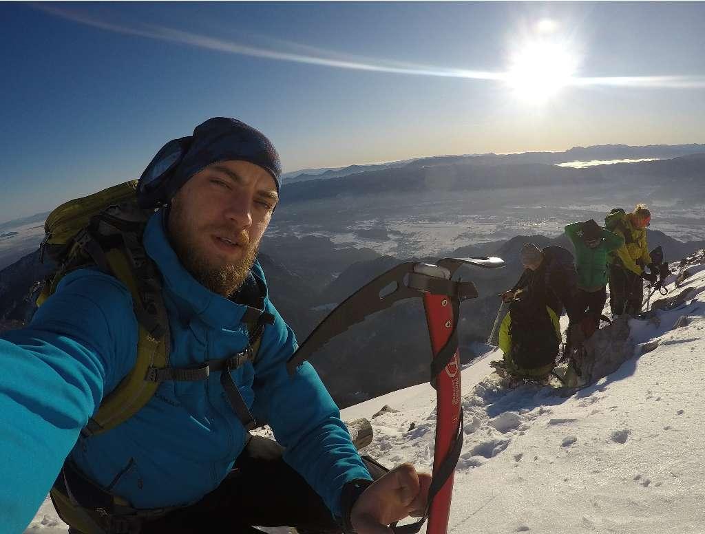 Begunjščica- Veliki Vrh 2060 m/n