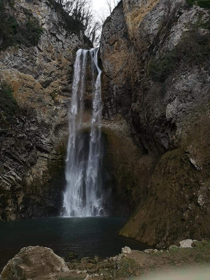 Bliha waterfall