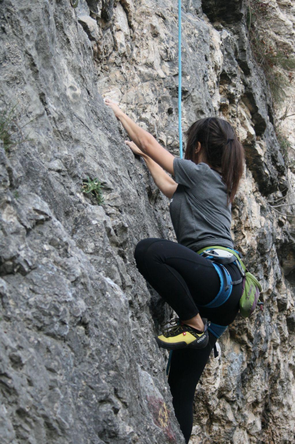 Dariva climbing