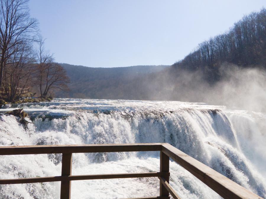 """Štrbački Buk"" Waterfall In Winter"