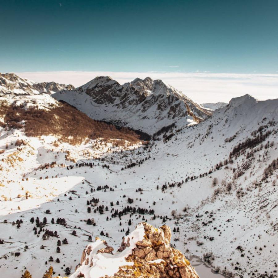 First day of winter in National Park Sutjeska