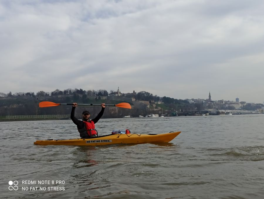 Great War Island kayak adventure