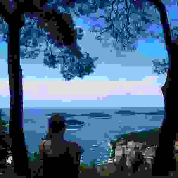 Pogled na Paklene otoke