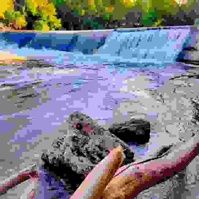 Cottonwood Falls, Kansas Cottonwood River Dam Falls