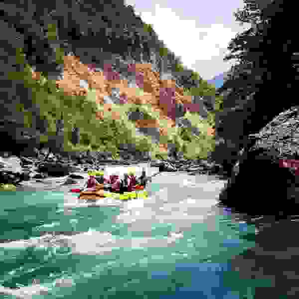 Tara Canyon rafting Foča