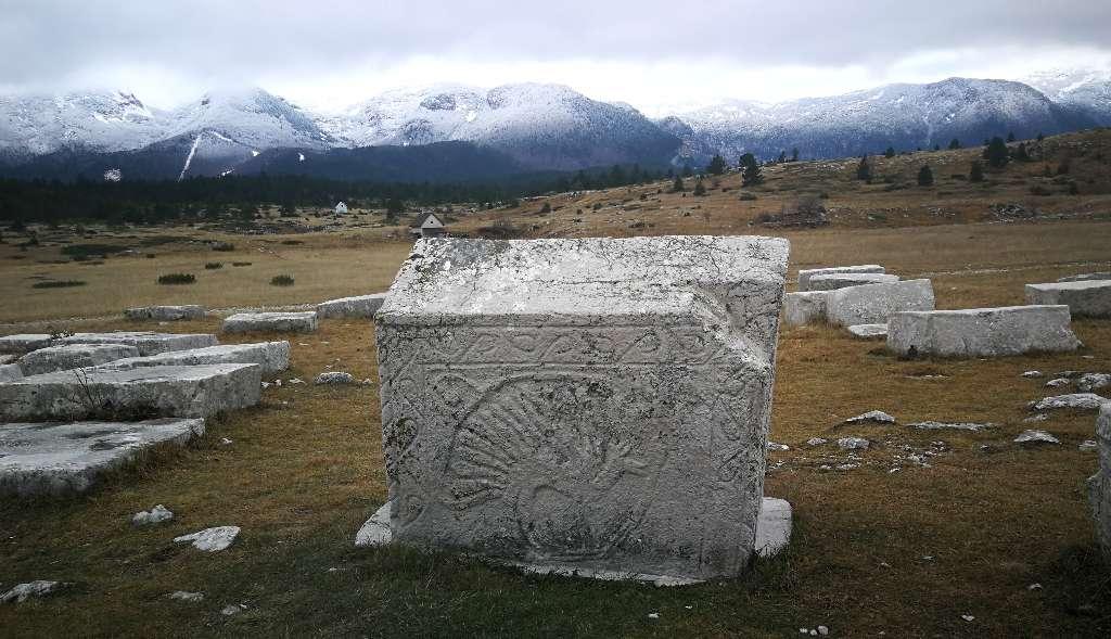 Stećak(Bosnian Medieval Headstone)
